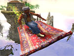 Fliegender Teppich 3D