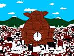 Cow Cult Clock